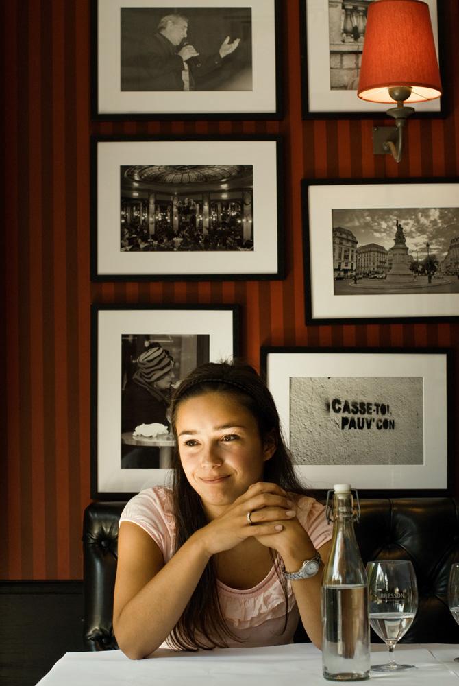 Restaurant Bresson Utrecht interview met Sarha Schmidt