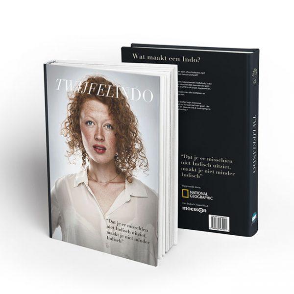 Hardcover Book MockUpwit